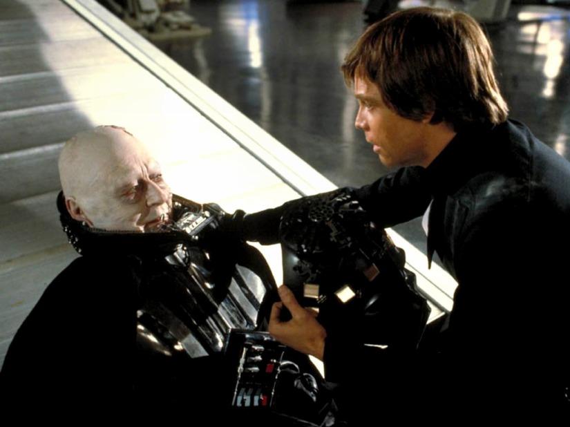 Luke did NOT turn to the DarkSide